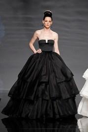 Fekete menyasszonyi ruha 11, Black Wedding Gown 11 Forrás:http://www.stylefull.com