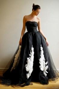 Fekete menyasszonyi ruha 12, Black Wedding Gown 12 Forrás:http://pronez.blogspot.hu