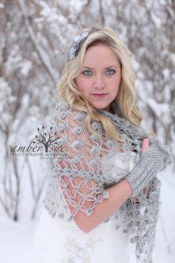 Horgolt esküvői vállkendő 5 Crocheted bridal shawl,shrag 5 Forrás:http://www.etsy.com