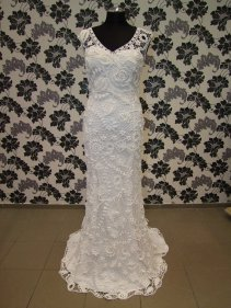 Horgolt menyasszonyi ruha 8/ Crocheted wedding dress 8 Forrás:http://www.etsy.com