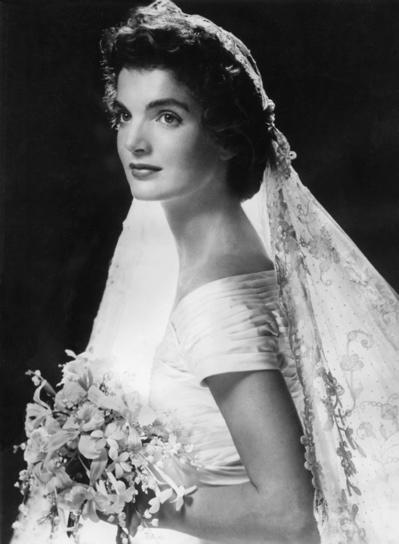 Jackie Kennedy esküvői fotó / Jackie Kennedy wedding photo