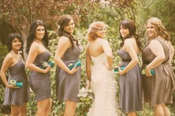 Koszorúslány kézitáska 7, Wedding bridesmaid clutches 7 Forrás:http://www.etsy.com