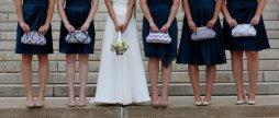 Koszorúslány kézitáska 8, Wedding bridesmaid clutches 8 Forrás:http://www.etsy.com
