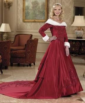 Mikulás menyasszonyi ruha 3, Mrs.Claus wedding gown 3 Forrás:http://www.weddingdressesdiscounted.org