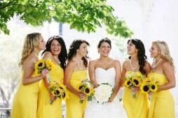 Napraforgós koszorúslány / Sunflower bridesmaids Forrás:http://www.coricook.net