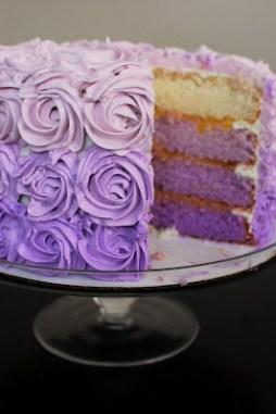 Ombre torta 3 / Ombre cake 3 Forrás: http://www.beantownbaker.com