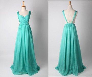 Türkiz koszorúslányruha 4 ,Turquoise bridesmaids dress Forrás:http://www.etsy.com