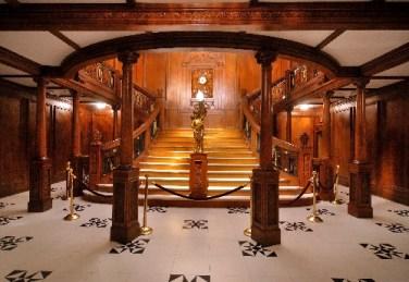 Titanic főlépcső / Titanic Grand staircase