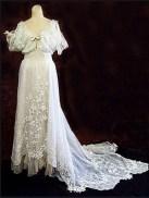 Titanic inspirációjú menyasszonyi ruha / Titanic inspired wedding gown Forrás:http://www.vintagetextile.com