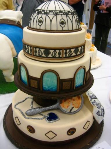 Titanic inspirációjú torta / Titanic inspired cake Forrás:http://www.mysweetandsaucy.com