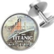 Titanic mandzsetta / Titanic cufflinks Forrás:http://www.etsy.com