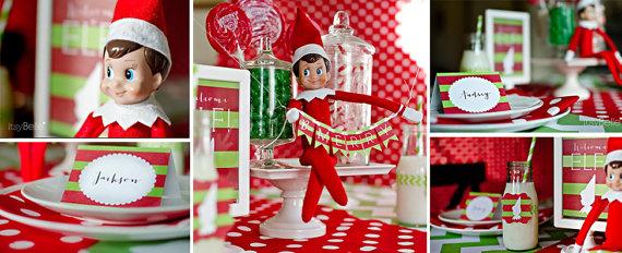 Karácsonyi dekoráció , Christmas decoration Forrás:http://www.etsy.com
