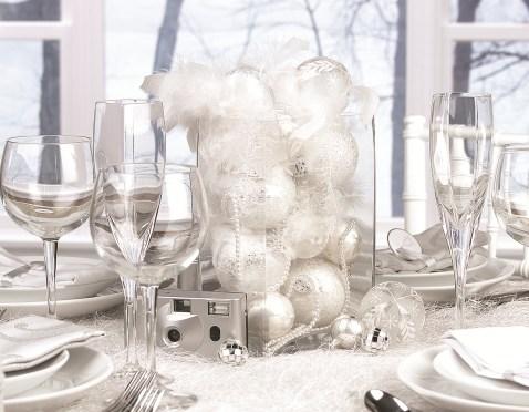 Karácsonyi esküvői dekoráció 4 , Christmas Wedding decoration 4 Forrás:http://www.justmarriedbcn.com/