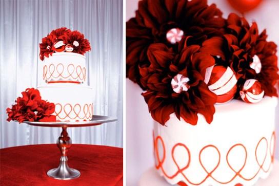 Karácsonyi esküvői torta 2 , Christmas wedding cake 2 Forrás:http://www.dparkphotography.com/