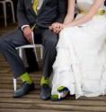 Színes zoknik a vőlegénynek és a vőfélyeknek , Colourful socks for the groom and groomsmen Forrás:http://peoniesandpassion.blogspot.hu/
