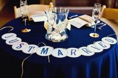 Tengerészkék esküvői dekoráció , Navy wedding decoration Forrás:http://theeverylastdetail.com