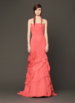 Vera Wang 2014 Fall Pink bridal collection 15 Forrás:http://www.verawang.com