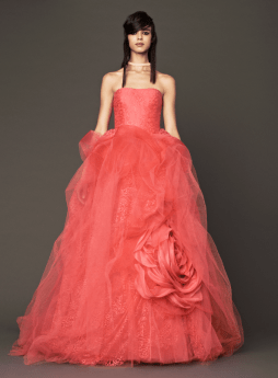 Vera Wang 2014 Fall Pink bridal collection 8 Forrás:http://www.verawang.com