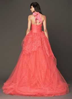 Vera Wang 2014 Fall Pink bridal collection 8a Forrás:http://www.verawang.com