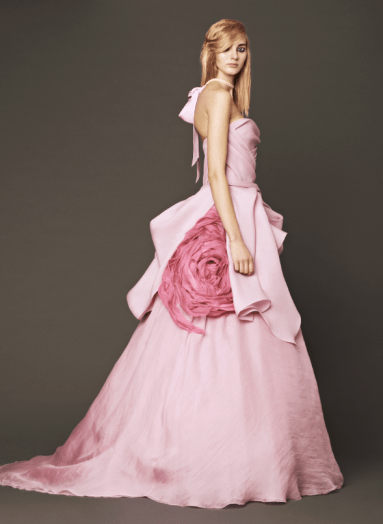 Vera Wang 2014 Fall Pink bridal collection 4 Forrás:http://www.verawang.com