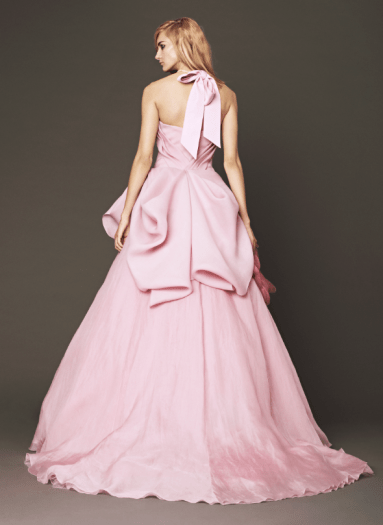 Vera Wang 2014 Fall Pink bridal collection 4a Forrás:http://www.verawang.com