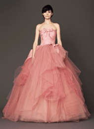 Vera Wang 2014 Fall Pink bridal collection 5 Forrás:http://www.verawang.com