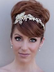 Menyasszonyi frizura ,hosszú barna hajból 9, Bridal long brown hair 9 Forrás:http://www.etsy.com