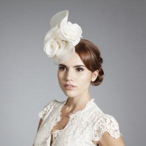 Menyasszonyi kalap 13, Bridal hat 13 Forrás:www.ginafoster.co.uk