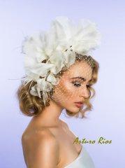 Menyasszonyi kalap 2, Bridal hat 2 Forrás:www.etsy.com