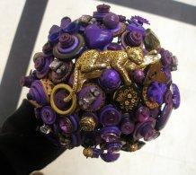 Gombos menyasszonyi csokor 14 Button bridal bouquet 14 Forrás: www.etsy.com