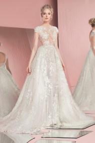 zuhairmurad-bridal-perla with overskirt Forrás:http://www.zuhairmurad.com