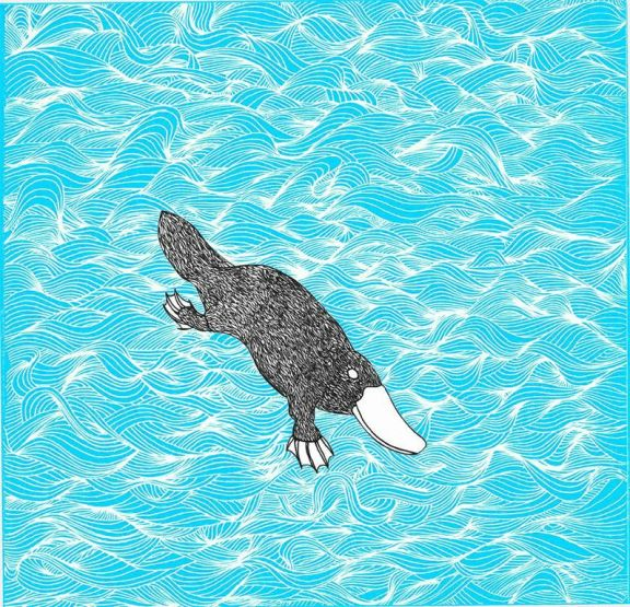 Luke Breen - Platypus Screenprint