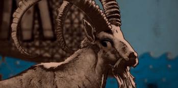 Goat animation