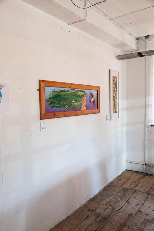 Moze's exhibition piece for Indigo