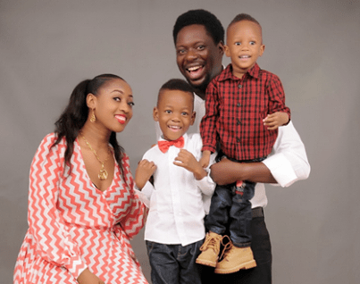 Klint with his family