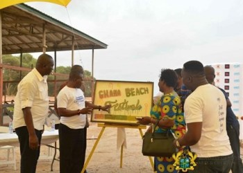 The festival was launched last week at the Laboma Beach Resort
