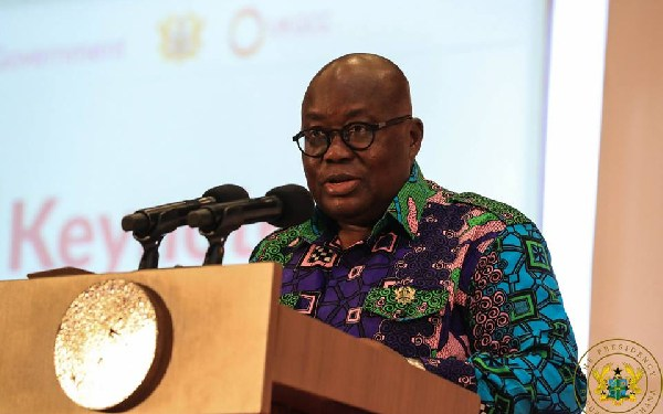 We'll hear from Amidu when he is ready – Akufo-Addo