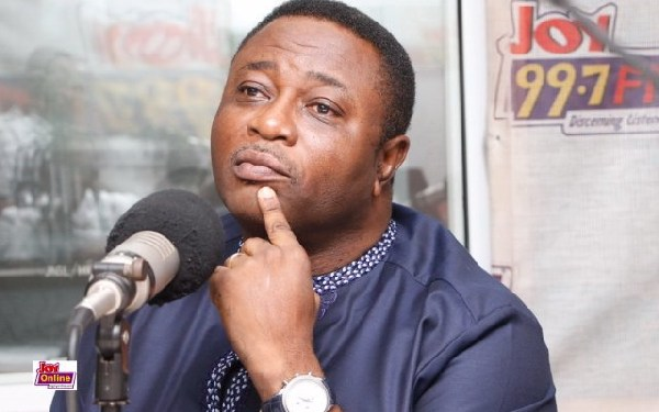 Elvis Afriyie Ankrah, Director of Elections for the National Democratic Congress