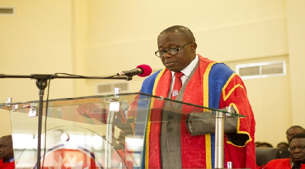 Vice-Chancellor of UEW, Reverend Father Prof Anthony Afful-Broni