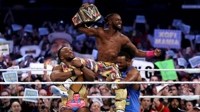 Kofi Kingston makes history and becomes the new WWE Champion at WrestleMania