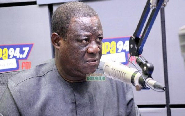 Mr Kwasi Amoako-Atta, Minister for Roads and Highways