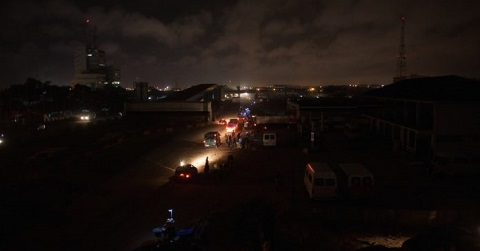 Several areas in the country will be affected by blackouts