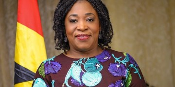 Minister of Foreign Affairs, Shirley Ayorkor Botchwey
