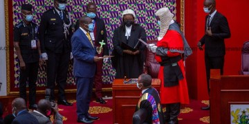 Alban Bagbin sworn in as new Speaker of Parliament