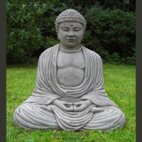 Large Buddha Garden Statue - Garden Ornaments by Onefold