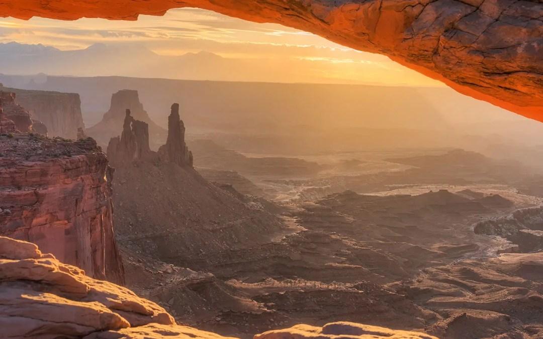 Mesa Arch Sunrise – Take Two
