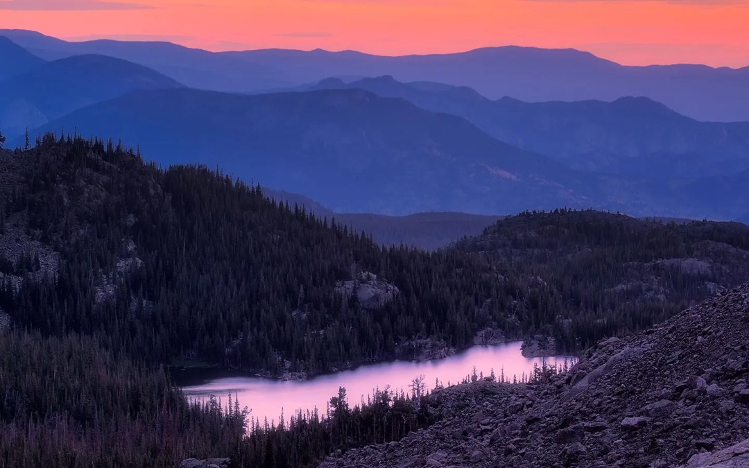 A Sunrise Hike to Sky Pond in Rocky Mountain National Park