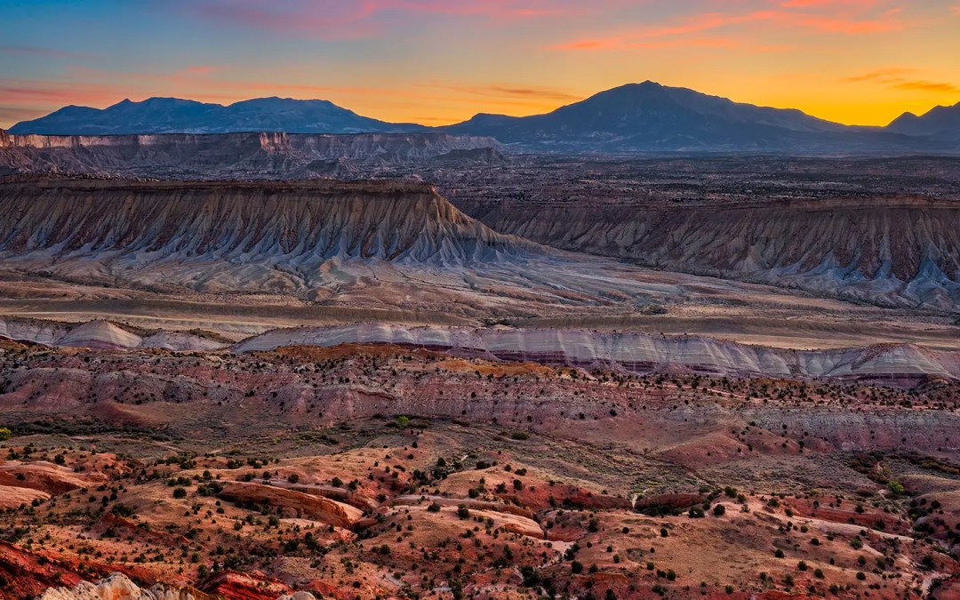 The Strike Valley Overlook in Capitol Reef National Park