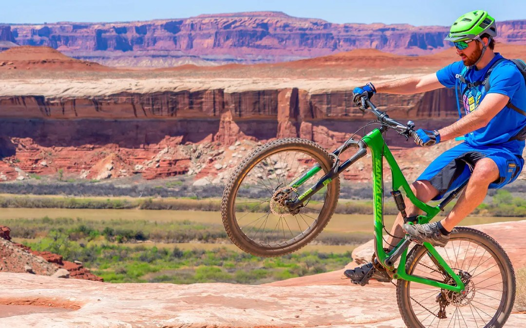 Mountain Biking the White Rim Trail in Canyonlands National Park
