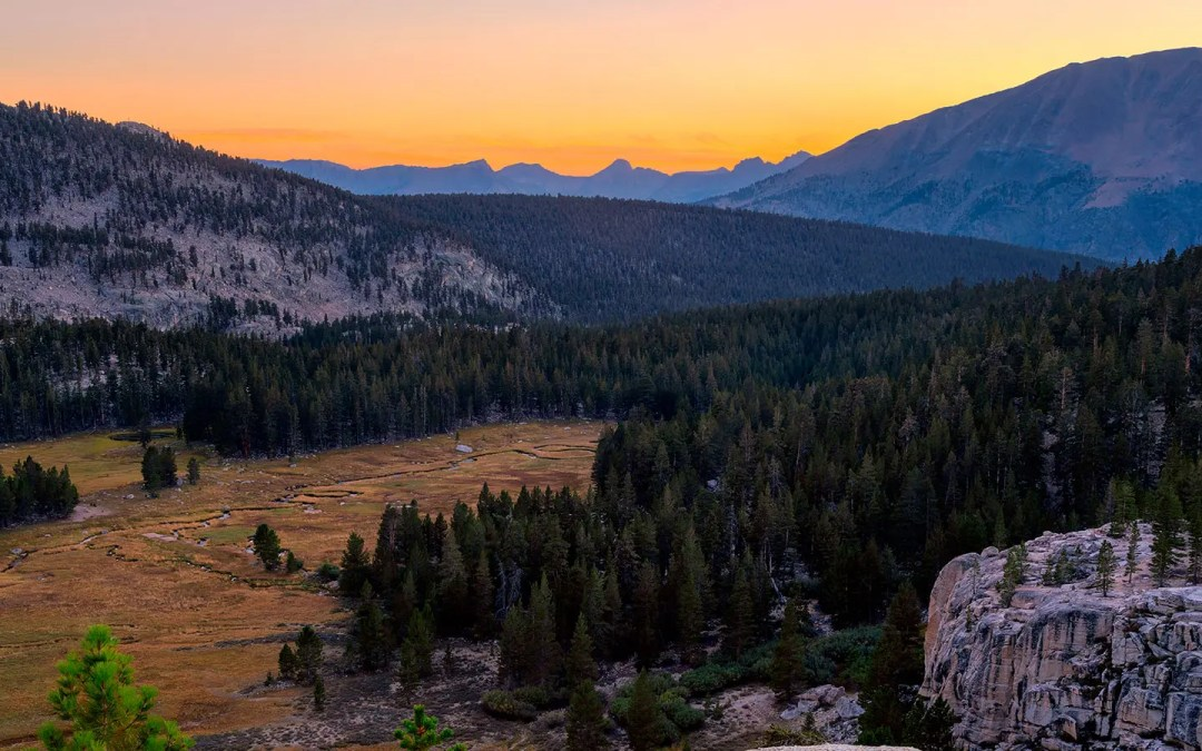 High Sierra Trail Day 5 – Junction Meadow to Crabtree Ranger Station